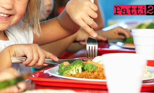 PATTI – Servizio refezione scuole dell'Infanzia, Scuole Primarie e Secondarie di I° Grado e Asilo nido.