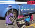 MESSINA – 148 kg d'acciaio e rame nei trolley. Fermati agli imbarcaderi due cittadini extracomunitari
