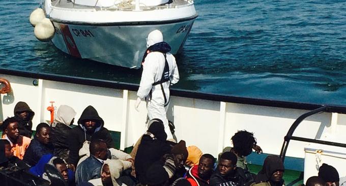 MESSINA – Altri 288 migranti fatti sbarcare nel porto di Messina. Soccorsi nei giorni scorsi nel Canale di Sicilia