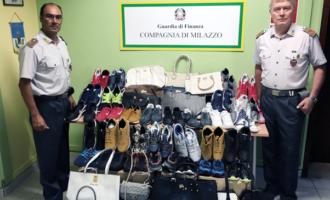 MILAZZO – Falsificazione delle griffe di moda. Merce sequestrata, avrebbe fruttato circa 800.000 euro