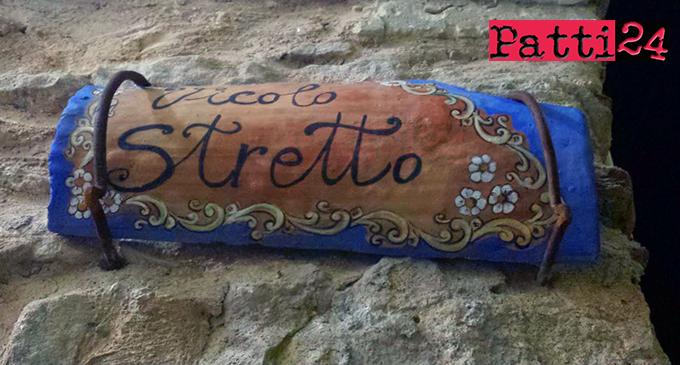"""PATTI – Quartiere San Michele. Il vicolo """"Stretto"""", un'altra bella opera da vedere oltre la storica porta"""