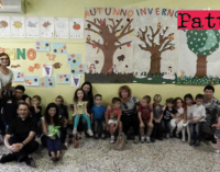 """PATTI – """"Festa dell'Accoglienza""""  alla scuola materna """"F. Pacini"""" di Patti Marina"""