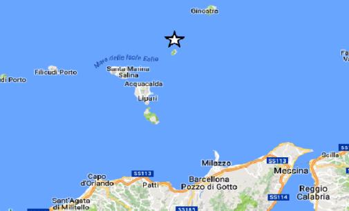 ISOLE EOLIE – Oggi pomeriggio lieve sisma di magnitudo ML 2.7 con epicentro in mare a 20 km da Santa Marina Salina