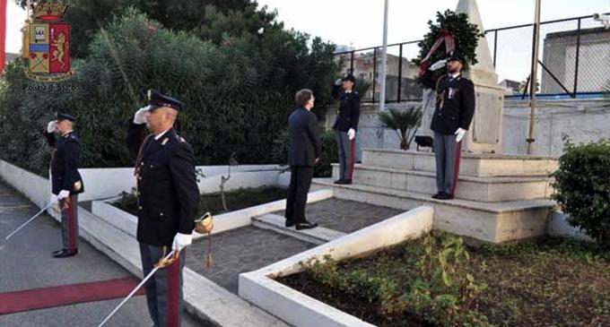 MESSINA – La Questura di Messina ricorda i suoi caduti