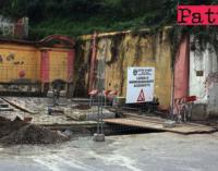 PATTI – Ripresi i lavori in via Randazzo per l'allaccio della condotta idrica. 2 milioni di litri di acqua