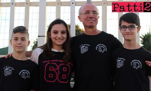 PATTI – Tre atleti della Scuola Karate di Patti alla prima esperienza in campo nazionale