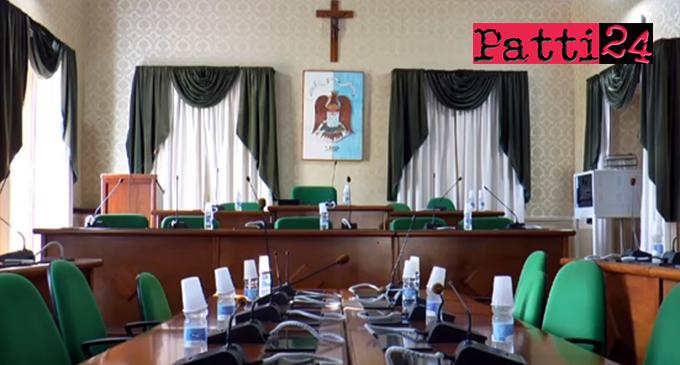 PATTI – Consiglio Comunale convocato in seduta straordinaria e urgente, per martedì 10 ottobre 2017