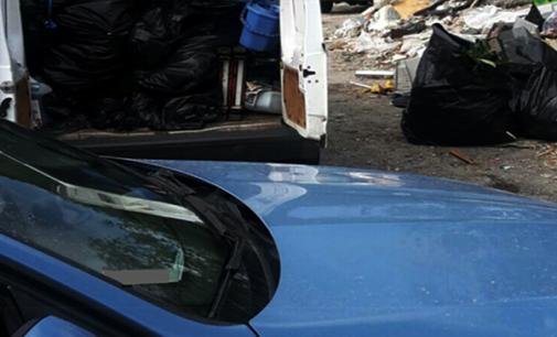 MESSINA – Deposito abusivo di rifiuti. Polizia Stradale multa autotrasportatore