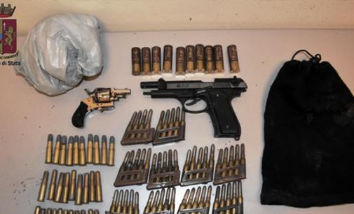 MESSINA – Rinvenute e sequestrate dalla Polizia armi e munizioni a carico di ignoti