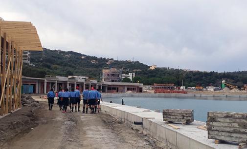 CAPO D'ORLANDO – Visita del Gruppo Scout alla Protezione Civile e al cantiere del porto