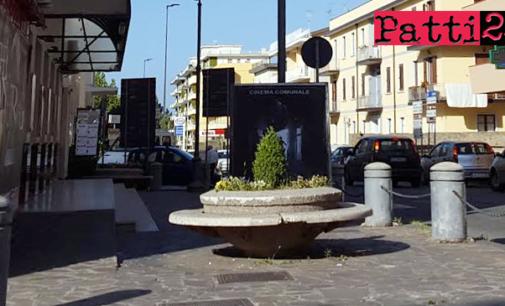 """PATTI – Manutenzione straordinaria prospetti e solaio di copertura del cine-teatro """"Beniamino Joppolo"""""""