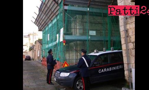 PATTI – Ispezionati due cantieri edili a Patti e ad Ucria. 17 denunciati, 400 mila euro di sanzioni elevate