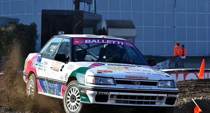 GIOIOSA MAREA – Vittoria di Totò Riolo sulla Subaru Legacy RS e CST Sport al Motor Show