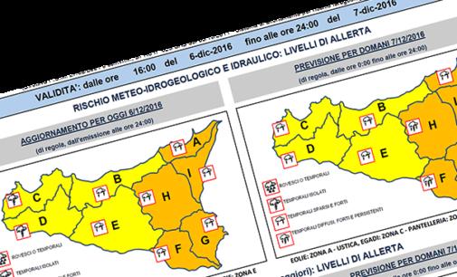 MESSINA – Allerta Meteo codice arancione. Nelle prossime ore temporali e forti raffiche di vento