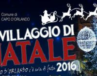 """CAPO D'ORLANDO – """"Aria di festa"""" a Capo d'Orlando, presentate le manifestazioni natalizie"""
