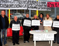 "TORREGROTTA – ""Ridateci l'Isola Ecologica"". Sit-in di protesta"