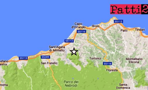 NEBRODI – Lieve sisma di magnitudo ML 3.2,  ad una profondità di appena 6 km con epicentro a 2 Km da Alcara Li Fusi