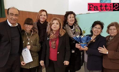 """PATTI – """"Un poster per la pace"""". Importante riconoscimento ad alunna della scuola media di Montagnareale dell'I.C. """"Lombardo Radice"""""""