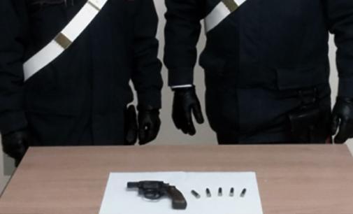 MESSINA – 49enne tratto in arresto per porto abusivo di pistola