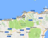 NEBRODI – Scossa di terremoto di magnitudo 3.4, epicentro a 3 km da Longi e Frazzanò e ad una profondità di appena 6 km