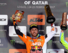 PATTI – Mxgp. Gran Premio del Qatar. Inizio col botto per Il pilota pattese Tony Cairoli