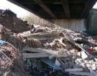 TERME VIGLIATORE – Sequestrate due discariche abusive di etenit sul greto del torrente Mazzarrà