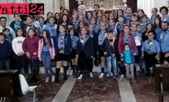 SAN PIERO PATTI – Gli scout dei Gruppi del San Piero Patti e del Capo D'Orlando insieme per festeggiare il World Thinking Day 2017