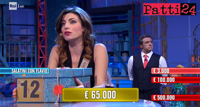 """BARCELLONA P.G. – Stasera, la barcellonese Simona Genovese ad """"Affari Tuoi"""" di Rai1 vince 65.000 euro"""