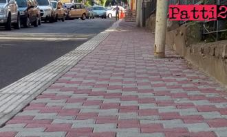 PATTI – Realizzazione tratto marciapiede lungo il corso Matteotti tra via Molino Croce e via Mazzini