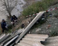 MAZZARRA' SANT'ANDREA- La Polizia Metropolitana sequestra un'area con rifiuti pericolosi. Tra il materiale anche lastre di eternit