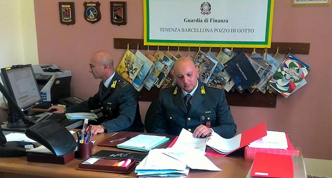 BARCELLONA P.G. – Dalla Lombardia alla Sicilia per una maxi-evasione fiscale di 16.000.000 di euro, 2 denunce