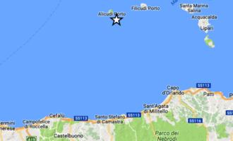 EOLIE – Lieve sisma di magnitudo 2.9 con epicentro in mare a pochi km da Alicudi