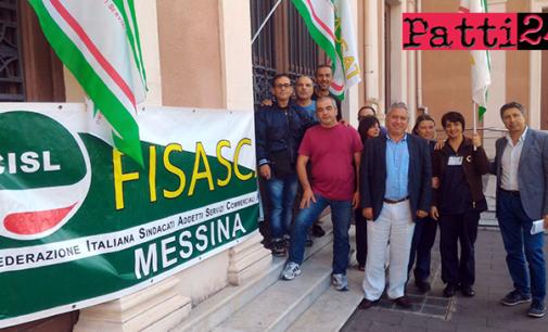 MESSINA – Stato agitazione dipendenti appalto pulimento dell'Università