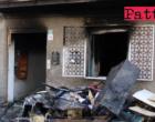 BARCELLONA P.G. – Abitazione in fiamme. Una vittima