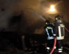 PACE DEL MELA – Incendio nella notte in una proprietà di un deposito metalmeccanico
