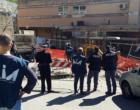 """TAORMINA – Opere pubbliche. Ispezioni antimafia del """"Gruppo Interforze"""" presso un cantiere all'ospedale San Vincenzo"""