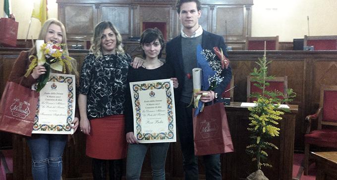 MILAZZO – Festa della donna, la premiazione del concorso delle scuole