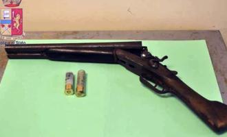 MESSINA – Nascondeva Fucile a canne mozze e con matricola abrasa. Arrestato 27enne