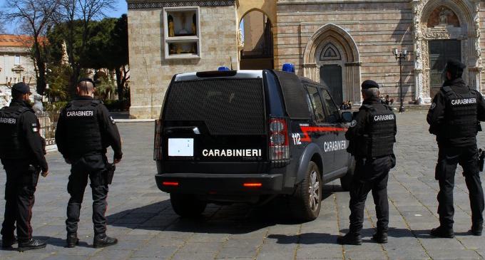 """MESSINA – I carabinieri schierano le SOS """"squadre operative di supporto"""" per sorvegliare la città. 2 arrestati"""