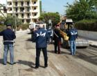 """GIARDINI NAXOS – G7 a Taormina. Ispezioni antimafia  del locale """"Gruppo Interforze"""" presso un cantiere"""