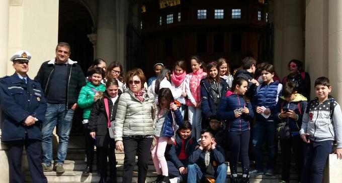 """MESSINA – """"Passeggiata in Galleria"""" con le scuole nell'ambito del Protocollo d'Intesa Vigili Urbani – Ordine degli Architetti"""
