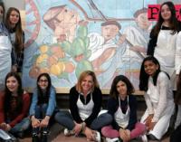 """PATTI – In via Di Vittorio un murales dedicato alla sicilianità realizzato da alunni della """"Bellini"""""""