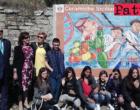 PATTI – Inaugurato murales dedicato alla sicilianità in via Di Vittorio