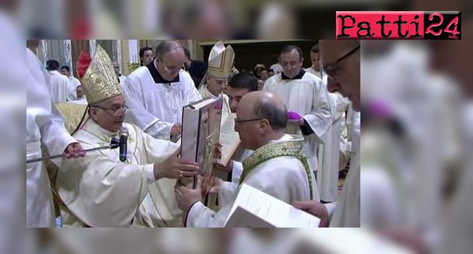 PATTI – A Tindari Mons. Guglielmo Giombanco è stato ordinato Vescovo della diocesi di Patti
