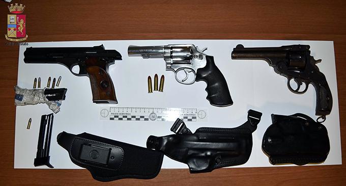 MESSINA – Arrestato 53enne messinese per porto e detenzione illegale di armi comuni da sparo e munizioni