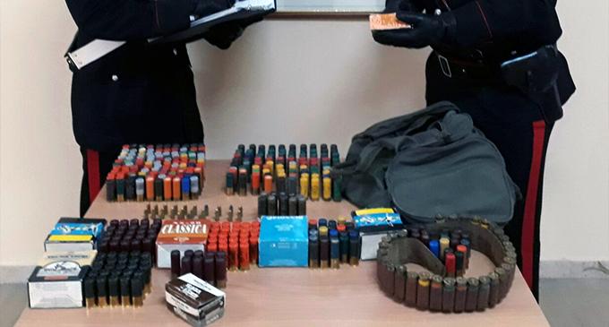 MESSINA – Rinvenuto un ingente quantitativo di munizioni in uno spazio condominiale