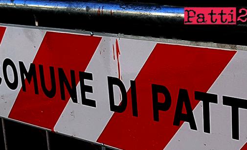 PATTI – Rete idrica comunale. Intervento di emergenza nel tratto che  attraversa la Piazza Mario Sciacca.