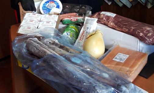 EOLIE  – Sequestrati a Vulcano circa 250 kg di alimenti in cattivo stato di conservazione