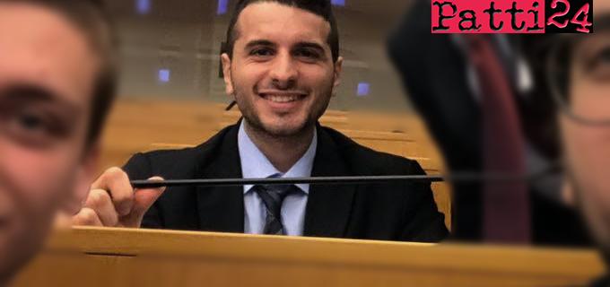 """TERME VIGLIATORE – """"Democracy"""". Al progetto ha partecipato anche Carmelo Da Campo, coordinatore giovanile Forza Italia"""