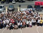 """PATTI – Alunni della """"Pirandello"""" in """"Corsa contro la fame""""."""
